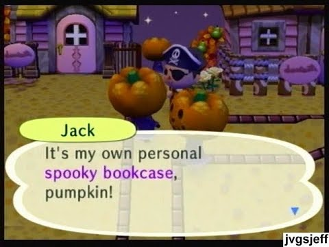 animal crossing city folk halloween - Halloween Animal Crossing City Folk