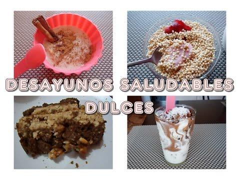 DESAYUNOS SALUDABLES DULCES ( PARTE II )