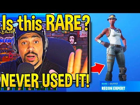 This SEASON 1 *LEGEND* Was *SHOCKED* Finding He OWNED The RAREST SKIN In Fortnite!