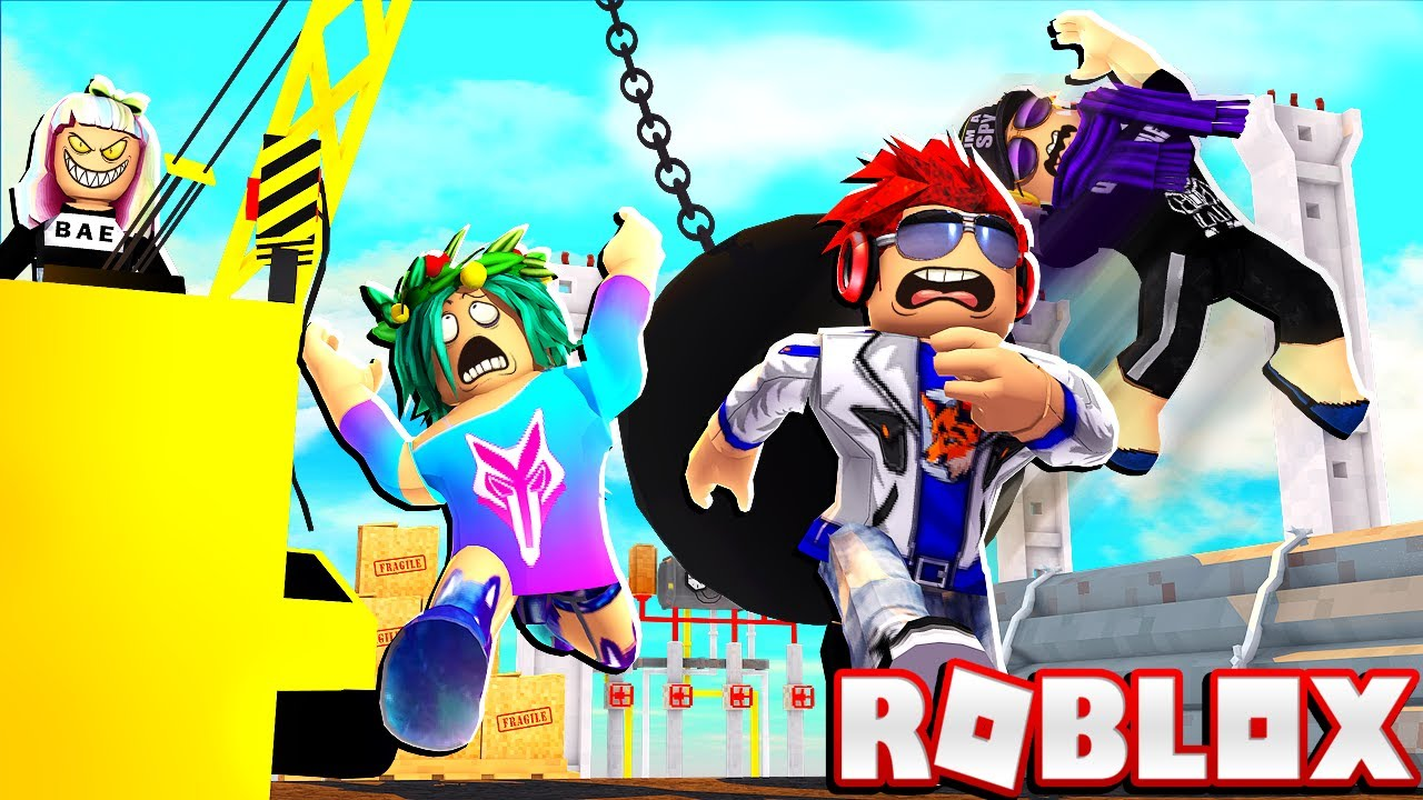 Making My Family Run For Their Lives Roblox Deathrun Youtube