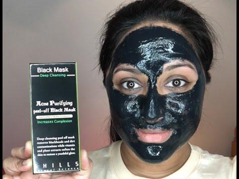 black peel  mask review  beautiful  binita