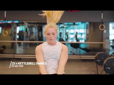 Weight Loss Exercises | Post-Easter Circuit | Fitness First Australia
