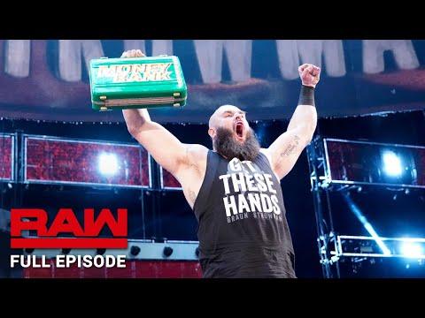 RAW 2018. június 18. - A Money in the Bank után - Teljes Adás