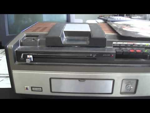 """Quasar- VR1000 """"The Great Time Machine"""" (VX Format) circa 1976"""