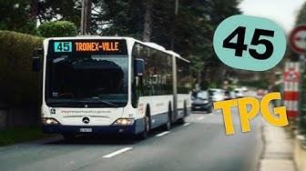 Ligne 45 - TPG Genève