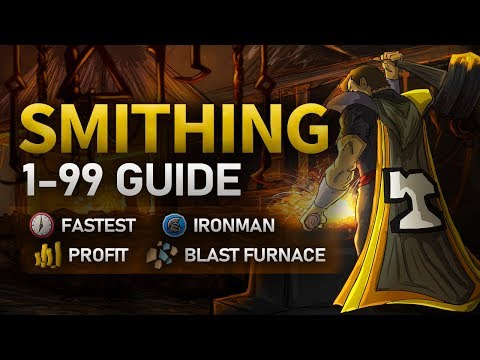 Theoatrix's 1-99 Smithing Guide (OSRS)