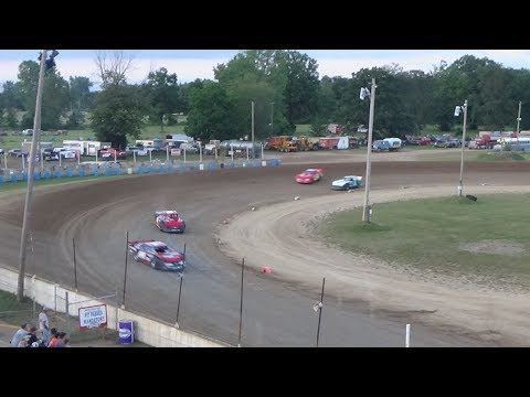 Pro Stock Heat Race #2 at Crystal Motor Speedway, Michigan on 07-22-2017.