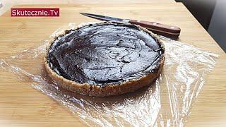Oszukany mazurek. Tarta czekoladowa bez pieczenia :: Skutecznie.Tv