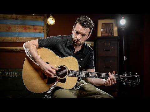 Taylor 618e Grand Orchestra   Acoustic Guitar Demo