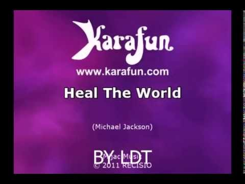 karaoke-heal-the-world-michael-jackson