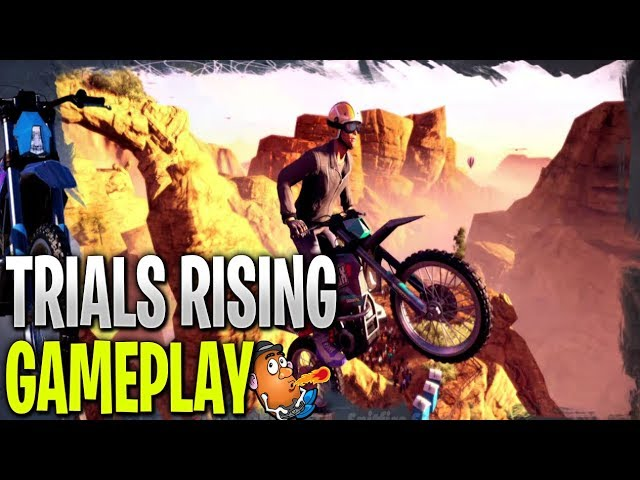 Messing about on Trials Rising | Trials Rising Open Beta | Xbox One X Gameplay