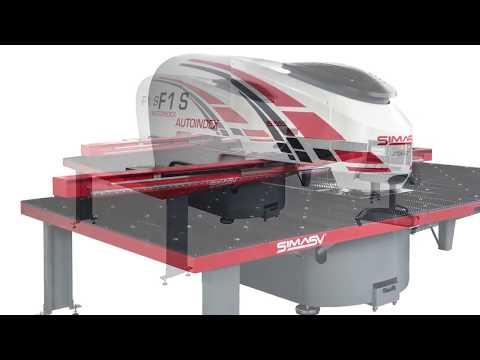 F1 S 2500  CNC AUTOINDEX punching machine