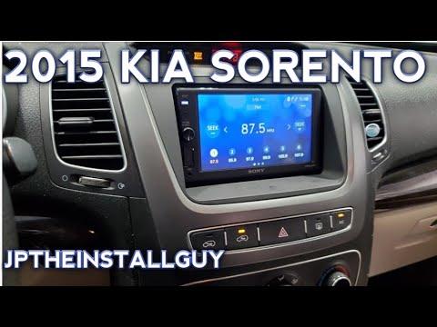 2015 kia sorento radio removal replacement and install