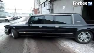 New limousine for President of Russia and Arabic Shakh