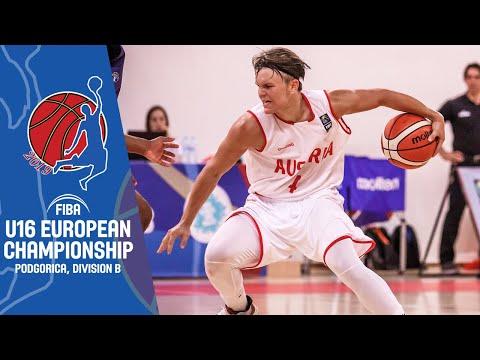 Norway V Austria - Full Game - FIBA U16 European Championship Division B 2019