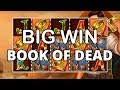 MY FIRST EVER 5 SCATTERS!! (Book of Dead - Play'n GO)