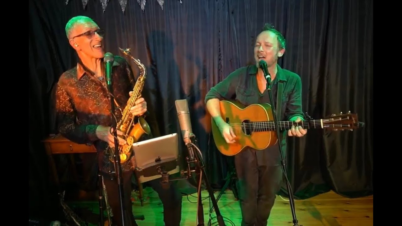 Snake Davis & Gareth Moulton perform virtually for Great Artists - Small Venue, Upstairs @The Gather