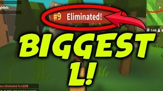 BIGGEST ROBLOX FORTNITE L Ever.... *Hackers*