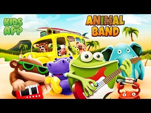 Animal Band ~ Music Time: Nursery Rhymes and Music (StoryToys Entertainment Ltd) - Best App For Kids