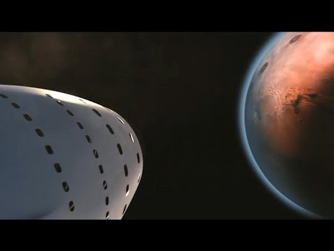Elon Musk reveals grand plan to colonize Mars (CNET News)