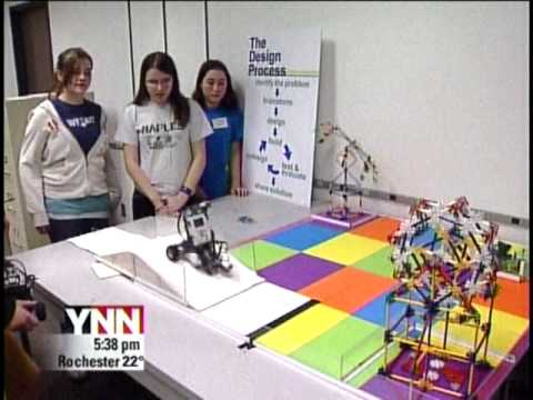 RIT on TV News: Robot Design Competition