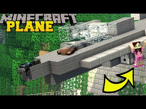 Minecraft: STUCK ON A PLANE!! - HIDDEN LEVER - Custom Map