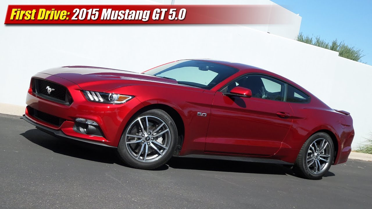 first drive 2015 mustang gt 5 0 youtube. Black Bedroom Furniture Sets. Home Design Ideas