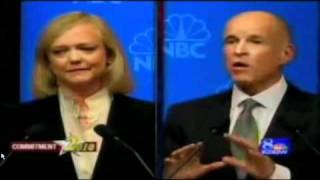 "Jerry Brown Confronted About Meg Whitman being Called a ""Whore"" by his someone in his Campaign"