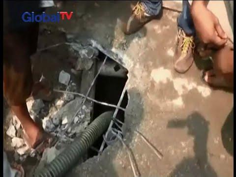 Pasca digerebek, polisi bongkar septic tank klinik aborsi di Medan - BIS 11/05
