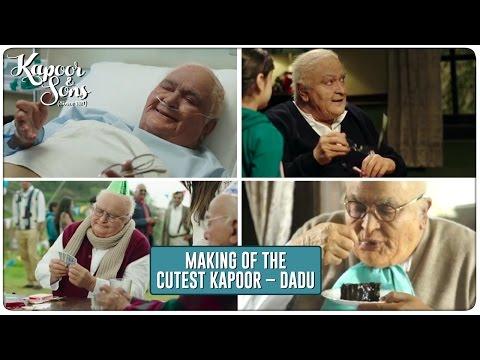 Kapoor & Sons | Making Of The Cutest Kapoor - Dadu | Rishi Kapoor