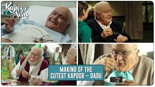 Kapoor & Sons   Making Of The Cutest Kapoor - Dadu   Rishi Kapoor