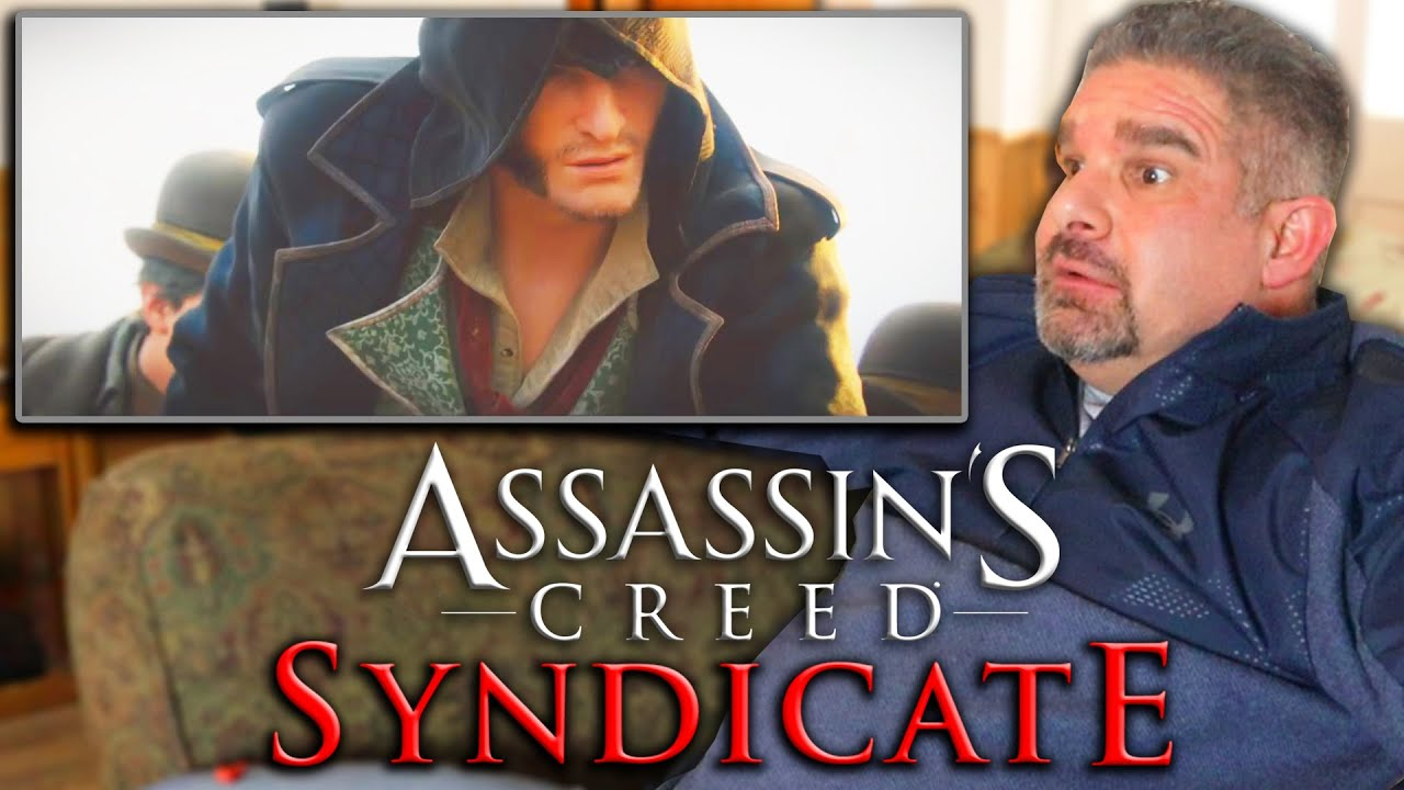 Dad Reacts to Assassin's Creed Syndicate Cinematic Trailer! thumbnail