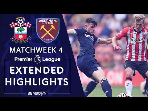 Southampton v. West Ham United   PREMIER LEAGUE HIGHLIGHTS ...