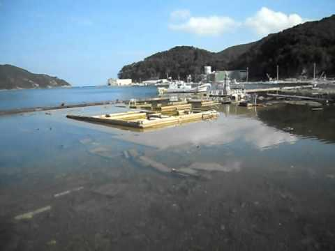 Onagawa (女川) Port Tsunami Survey 6 months later (Sept 2011)