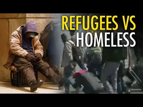 "Quebec supports ""refugees,"" not homeless citizens"