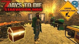 7 Days to Die Mod   Treasure Trader & Work Room   SP Let