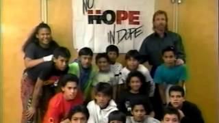 """Chuck Norris - PSA """"There's No Hope in Dope"""" - 1990"""