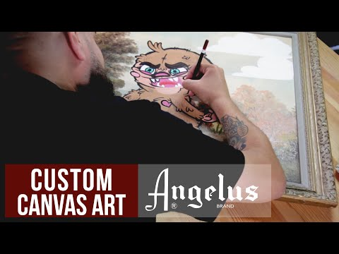 Goodwill Hunting | Custom Thrift Store Painting | Angelus Paints