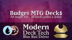 Budget Blue Red Delver - Modern Deck Tech - $36