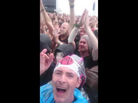 Babymetal,megitsune@ download festival Donington Park, 10/6/2016
