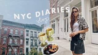 week in my life vlog   book recs, parties, pride parade, summer in the city!