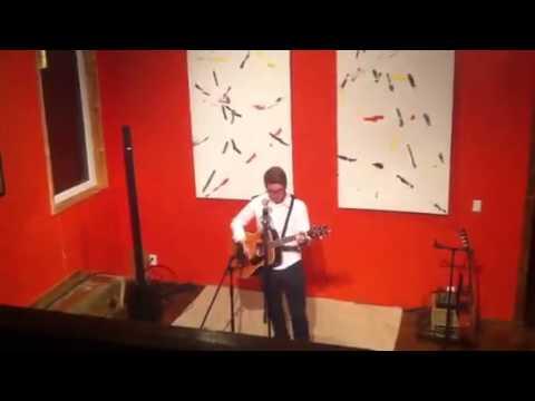 Nicholas Saunders performing at The Citadel House 2015