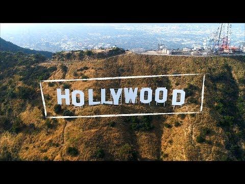 Los Angeles, Hollywood Hills, Beverly Hills, Calabasas, Malibu - California | 4k Drone Footage
