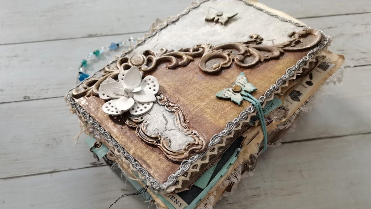 Butterfly Blues junk journal