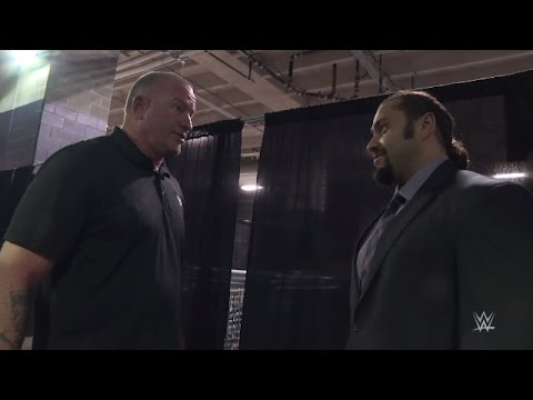 Rusev meets Road Dogg on his way to WrestleMania 32
