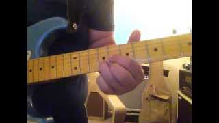 Right Where I need to be - Gary Allan intro guitar lesson G#