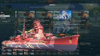 World of Warships ARP KRISHIMA AND ARP HAGURO Missions Available for EU /w tips