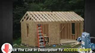 Shed Plans 10x12 And Over 12,000 Shed Plans