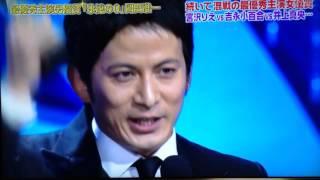 「永遠の0」 最優秀助演男優賞とのダブル受賞です!