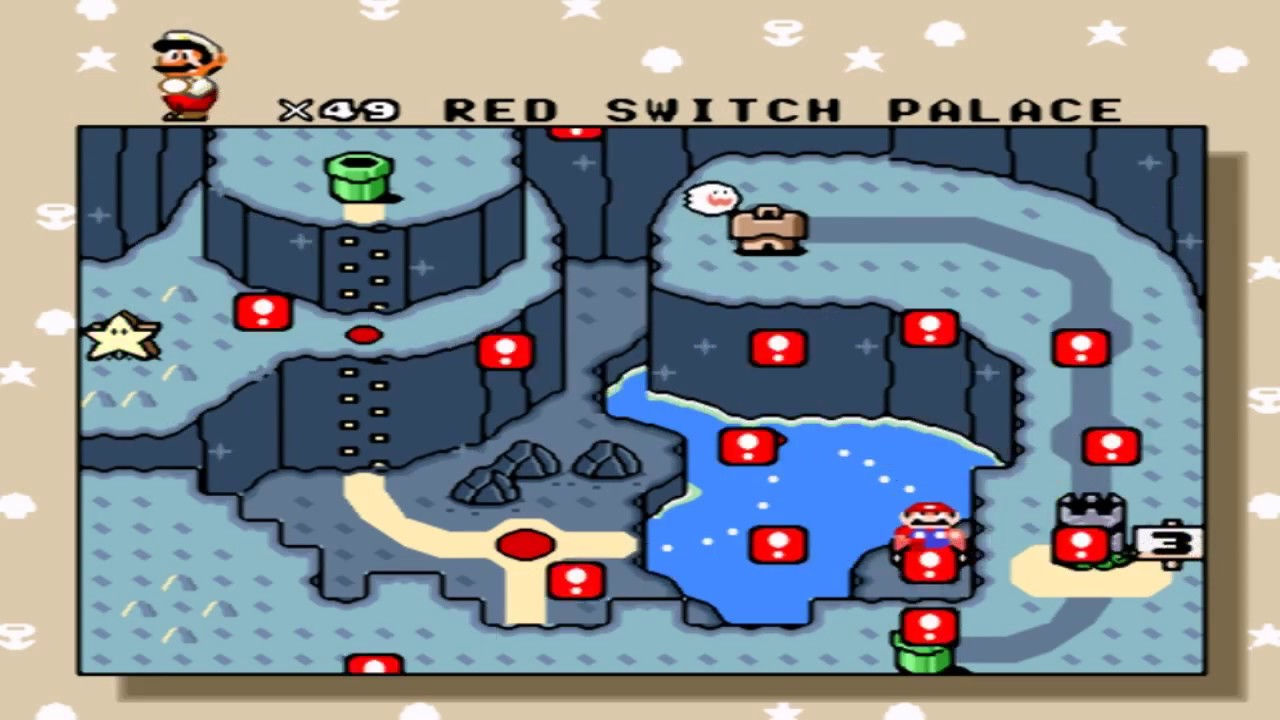 Let S Play Super Mario World Vanilla Dome 2 Red Switch Palace